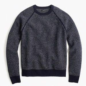 J. Crew Men's Textured Lambswool Sweater